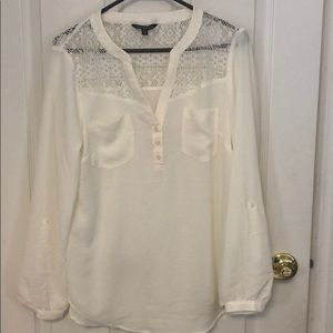 Express NWOT lace top